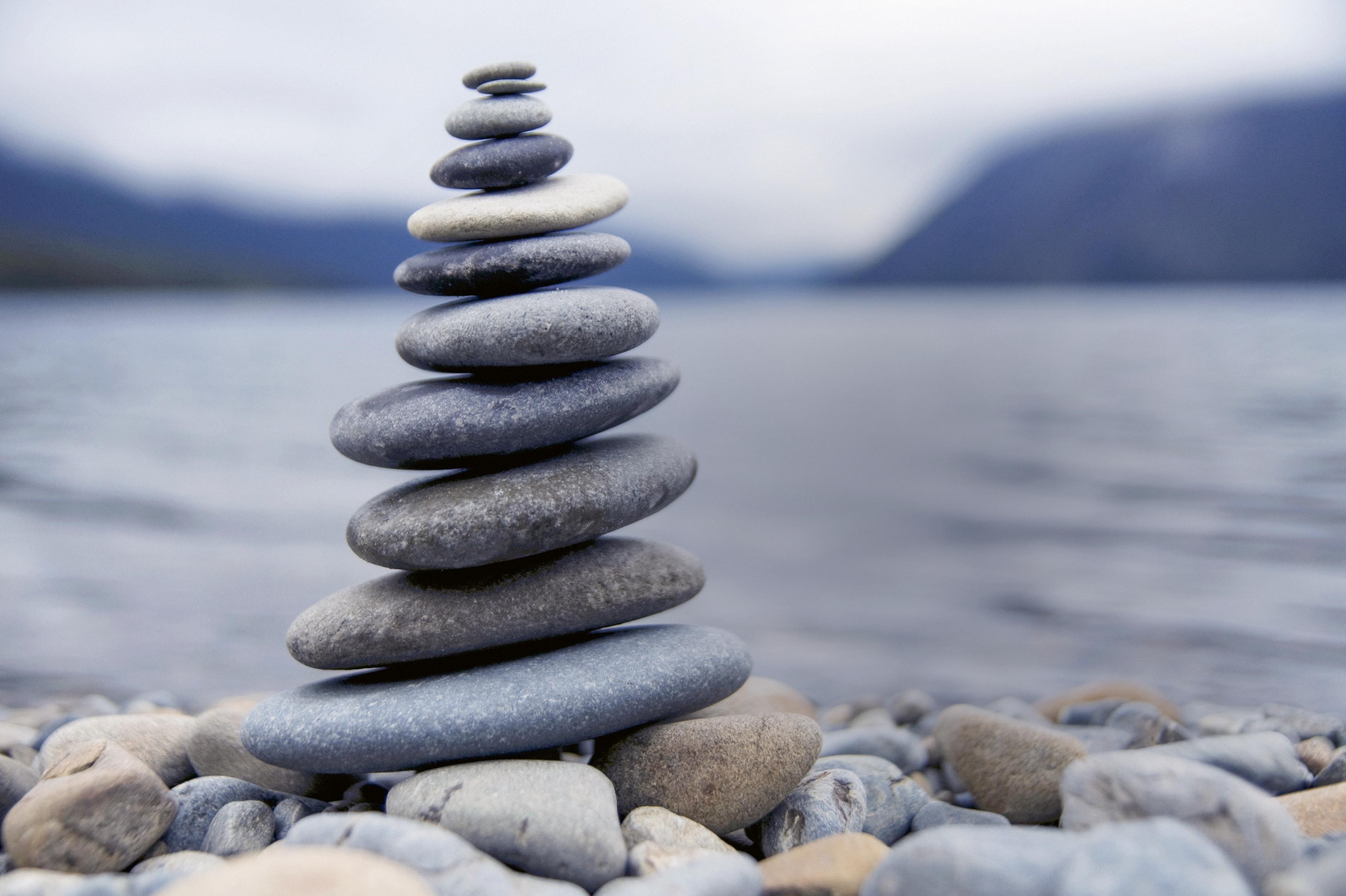 Ausgeglichen durch den Alltag