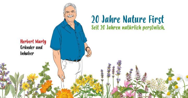 Wir feiern 20 Jahre Nature First